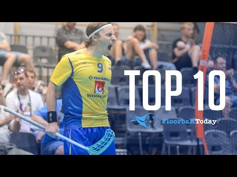 TOP 10 FLOORBALL PLAYERS IN THE WORLD (UPDATED 2018)
