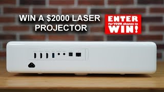 Win A Laser Projector Worth $2000 - MEGA Competition Time