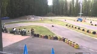 Caduta minimoto Ferrara X Bikes