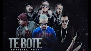 Te Bote remix - Bad Bunny x Ozuna x Nicky Jam  [LETRA/LYRICS]