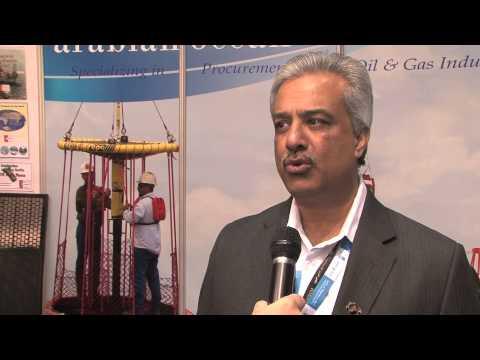 Joe Mathews, MD, Arabian Ocean Drilling  Supplies & Trading FZCO, at ADIPEC 2013, spoke to Eithne Tr