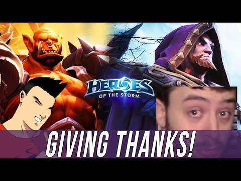 TEAM LE - GIVING THANKS! [Heroes Of The Storm]