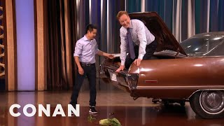 Steven Ho Prepares Conan For Parking Lot Assaults  - CONAN on TBS