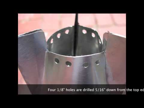 the cone zone isopropyl alcohol stove redux youtube. Black Bedroom Furniture Sets. Home Design Ideas