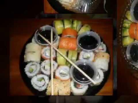 Bandejas de sushi para tus eventos sociales youtube - Bandejas para sushi ...