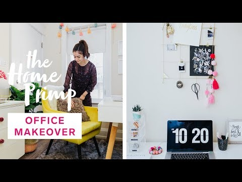 diy-dreamy-home-office-makeover-for-under-$200-|-organization-hacks-|-the-home-primp