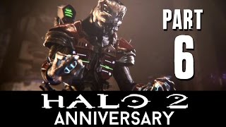 Halo 2 Anniversary Walkthrough Part 6 - THE ORACLE (Mission 7) Master Chief Collection - 60fps