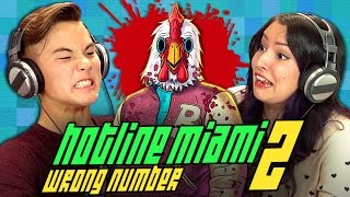 HOTLINE MIAMI 2 (REACT: Gaming)