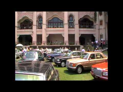 Historic Mercedes.B  Concours ( Malaysia )