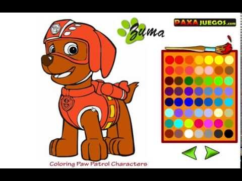 La patrulla canina en español - Juegos para colorear - la ...