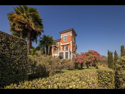 Historic Hilltop Villa in Verbania, Verbano Cusio Ossola, Italy | Sotheby's International Realty