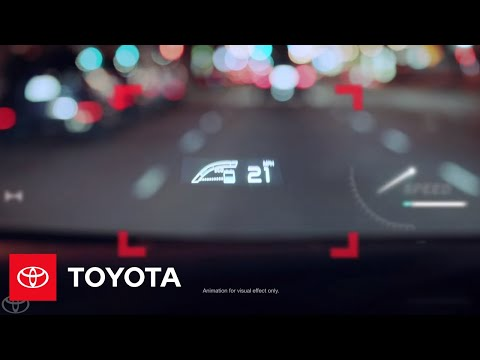 Available Full-Color Head-Up Display | Prius | Toyota