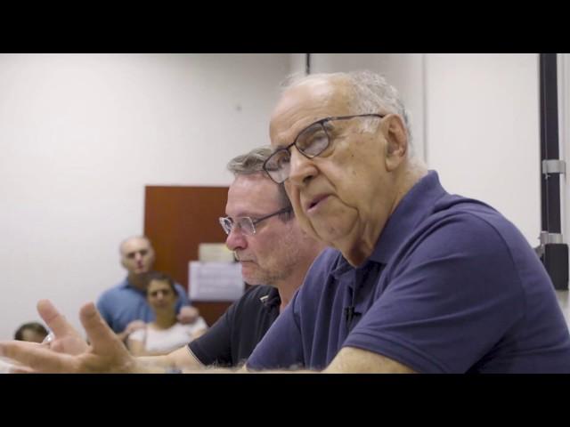 Palestra de Guilherme Estrella no Instituto de Geociências da Unicamp