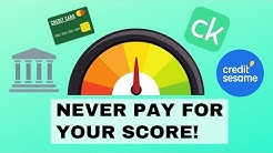 5 Ways to Check Your Credit Score for Free!