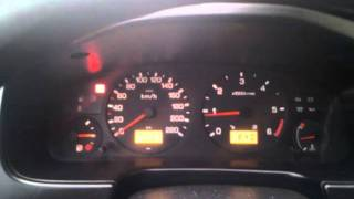 Nissan Primera P11 2.0TD Turbo Diesel engine start