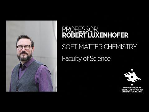 Robert Luxenhofer: What is soft matter chemistry? | University of Helsinki