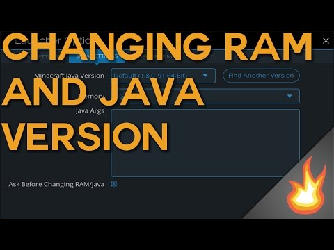 Changing RAM and Java Version   Technic Launcher Tutorial
