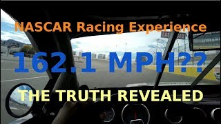 The truth about the NASCAR Racing Experience 2018
