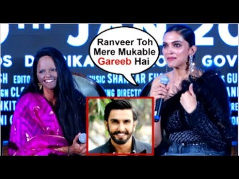Deepika Padukone TROLLS Hubby Ranveer Singh After Reporter Asked About He PUTTING Money In Chhapaak