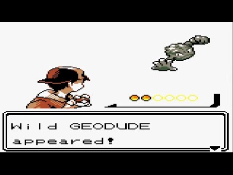 Pokémon Gold and Silver - Catching Geodude Catching Spearow and Route 46 (Part 5)