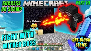 Minecraft | Wither Boss Thinks We Are Poor \u0026 Scammed With Us
