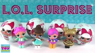 l o l surprise baby doll cries color change wets spits unboxing toy review   pstoyreviews
