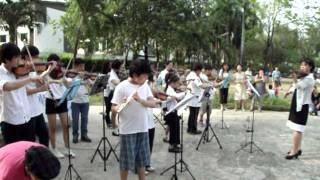 เพลงอารีดังในงานคริสตจักรมานาไทย