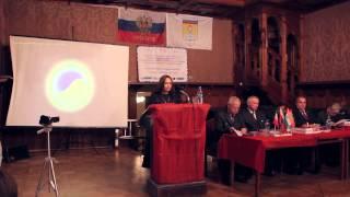 Научный доклад Виктории ПреобРАженской на VI Всемирном научном Конгрессе