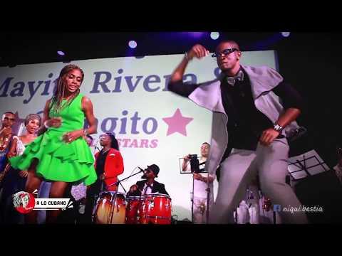 Tremenda gozadera en el concierto de Mayito Rivera en Moscu (TimbaFest-Moscow-Russia) Dance