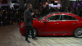 2020 Mercedes CLA - Video Walkaround live from CES-Debut in Las Vegas