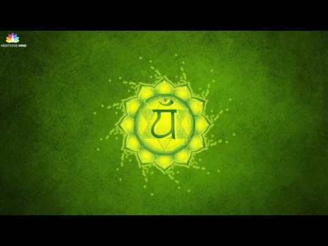 HEART CHAKRA HEALING MEDITATION MUSIC || anahata || Healing Music of Tibetan Singing Bowls