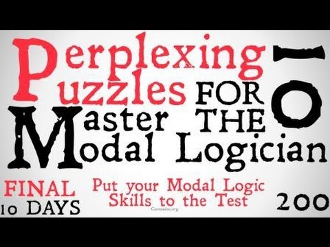 10 Perplexing Puzzle for the Master Modal Logician