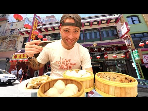 Chinese FOOD TOUR Of The OLDEST CHINATOWN In America | San Francisco, California