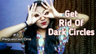 काले घेरों से कैसे छुटकारा पाएं/Magical Home Remedy to remove  dark circles ( Hindi) | Lavishka Jain