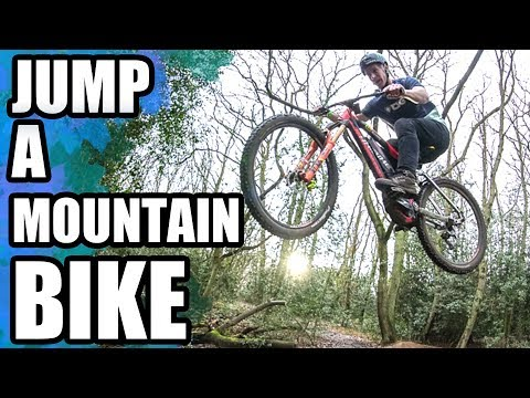 HOW TO JUMP A MOUNTAIN BIKE