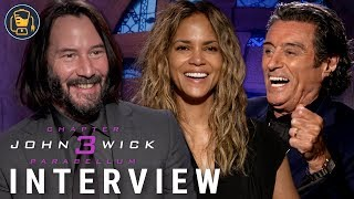 Keanu Reeves, Halle Berry And More On John Wick: Chapter 3 - Parabellum