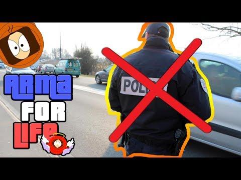 JE REFUSE UN CONTRÔLE DE POLICE 🚓👿! | ARMA FOR LIFE