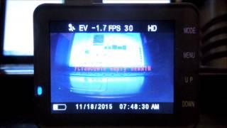 Радар детектор со встроенным видеорегистратором mystery