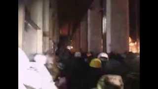 Штурм Украинского Дома Европейская Площадь Киев 26.01.2014(, 2014-01-25T22:59:27.000Z)