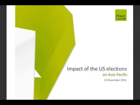 Impact of the US elections on Asia Pacific