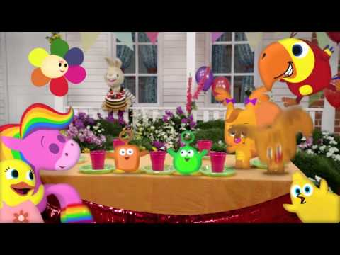 Harry's BIG Birthday Countdown | My First Movie | Harry the Bunny | BabyFirst TV