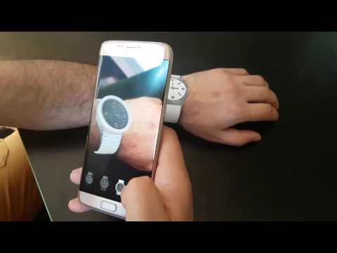 Try On Virtual Watches Using Augmented Reality App - Demo ( AR-Watches.com )