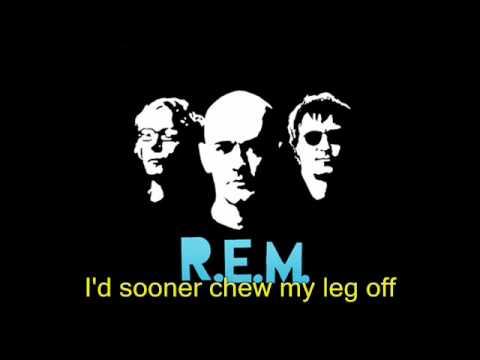 R.E.M - bittersweet me