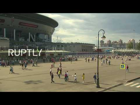 LIVE: Pre-match atmosphere from Zenit Arena ahead of Confederations Cup opening match