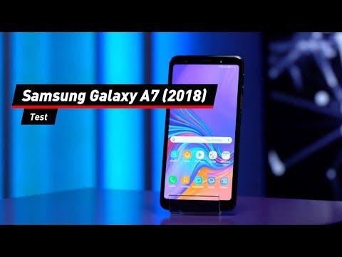 Samsung Galaxy A7 (2018) mit Dreifach-Kamera im Test