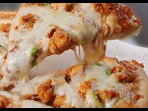 صورة  طريقة عمل البيتزا طريقة عمل بيتزا الفراخ سهلة جدا وبسيطة طريقة عمل البيتزا من يوتيوب