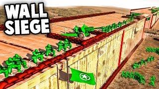 INTENSE WALL SIEGE! Defending Grump's Wall?! (Army Men of War - MOWAS 2 Toy Soldiers Mod)