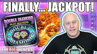 FINALLY! 💎DOUBLE DIAMOND JACKPOT! 💎 Big Bonus Boom   The Big Jackpot