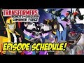 Transformers RID S4: Combiner Force – Cartoon Network Europe Schedule REVEALED