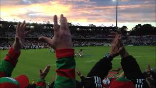 The Burrow @ South Sydney Rabbitohs vs St George Dragons Match, Kogarah 2012